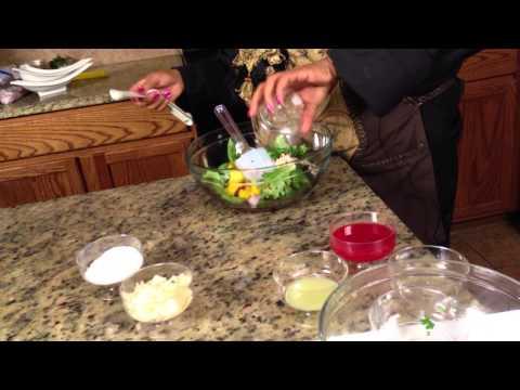 Mango, Blueberry & Lime Salad : Making Salads