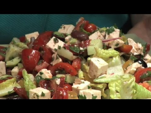 Tomato, Feta Cheese & Kalamata Olive Salad : Tomato Salads & Other Recipes