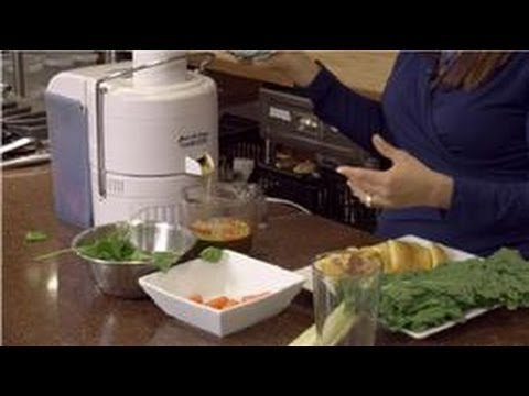 Raw Diet: Juice, Smoothies and Salads : How to Make a Good Juice With Fruits and Vegetables