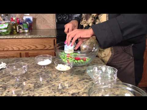 Edamame Salad With Tomatoes & Parmesan : Making Salads
