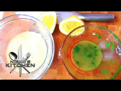 How to make Salad Dressing – Video Recipe