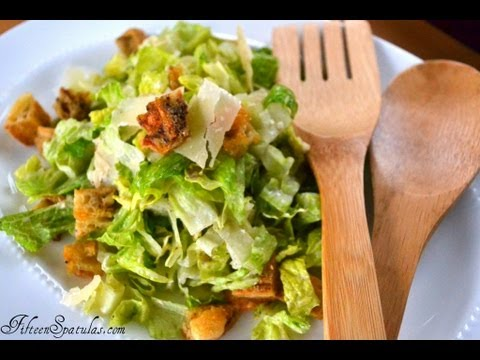 How to Make Homemade Croutons {for salad}