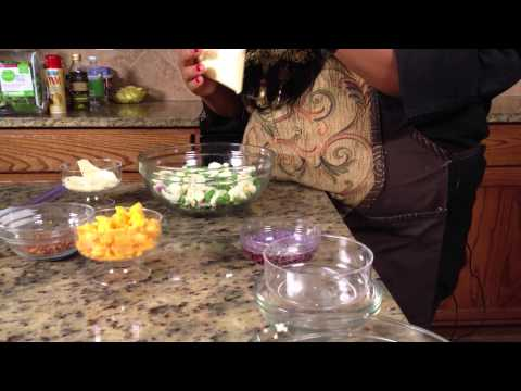 Parmesan Seven-Layer Salad : Making Salads