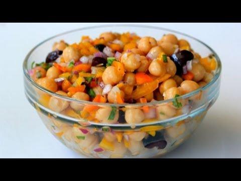 Kitchen Sink Chickpea Salad