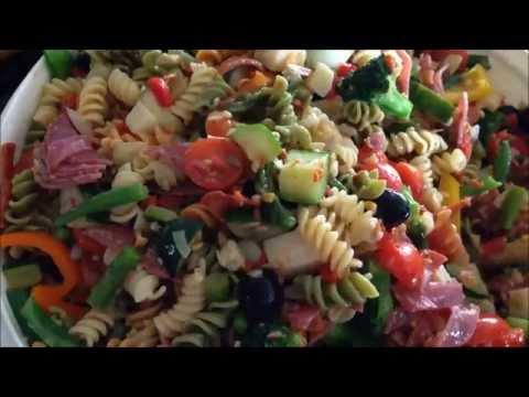 How to make Italian Pasta Salad