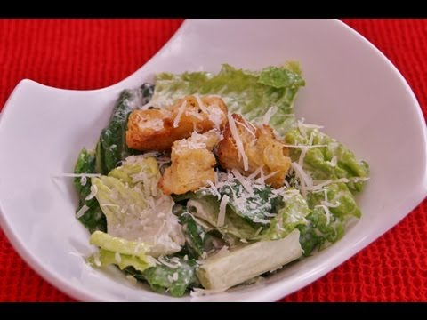 Caesar Salad Recipe:Caesar Salad Dressing: How To Make: Mom's BEST Easy Homemade:Dishin' With Di #43