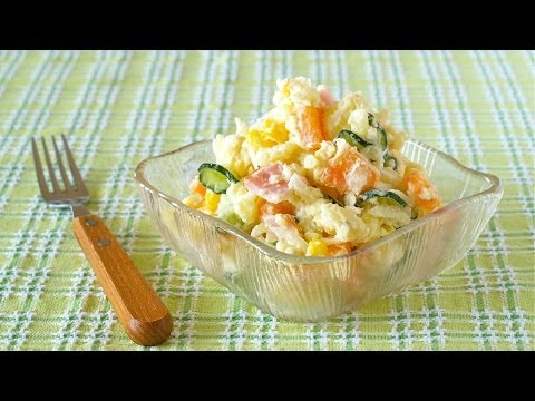 How to Make Japanese Potato Salad (Recipe) 美味しいポテトサラダの作り方 (基本レシピ)