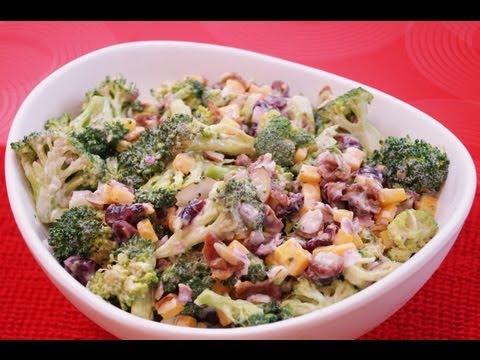 Broccoli Salad Recipe: How To Make Broccoli Salad: Recipe:Diane Kometa-Dishin' With Di  #91