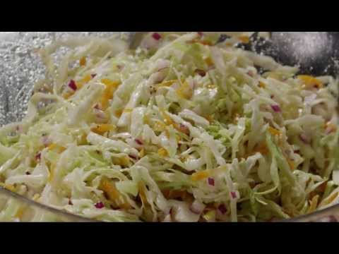 Salad Recipe – How to Make Cabbage Coleslaw