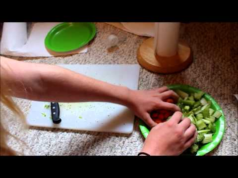 How to make premade salads!