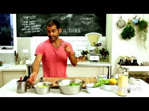 How to Make Raw Food Recipes Making Salads