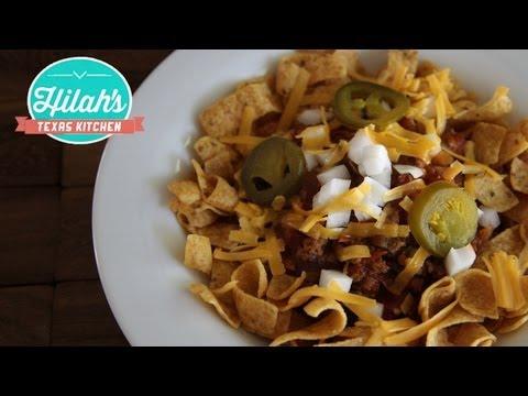Frito Chili Pie | Hilah's Texas Kitchen