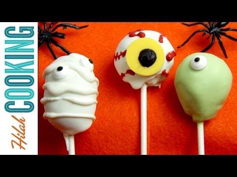 Halloween Cake Pops | Halloween Recipe #9