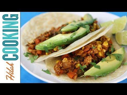 Vegetarian Tacos! |  Hilah Cooking