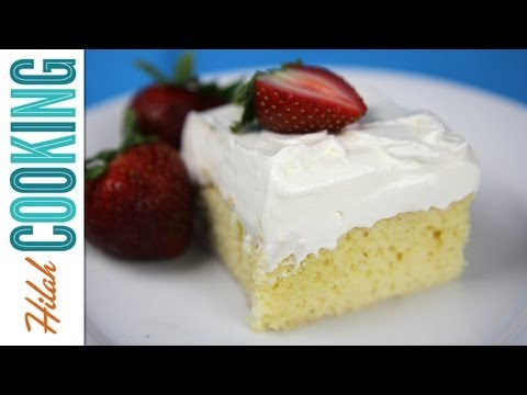 Tres Leches Cake Recipe – How To Make Tres Leches Cake