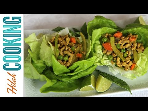 Pork Lettuce Wraps |  Hilah Cooking