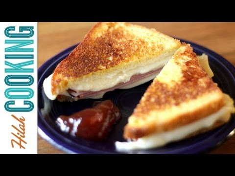How To Make a Monte Cristo Sandwich |  Hilah Cooking