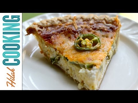 Jalapeño Popper Quiche – How To Make Quiche