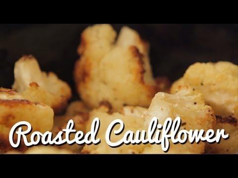 Roasted Cauliflower (trust us, it's good!)