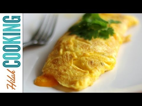 How To Make an Omelet – Easy Cheesy Omelet Recipe Video