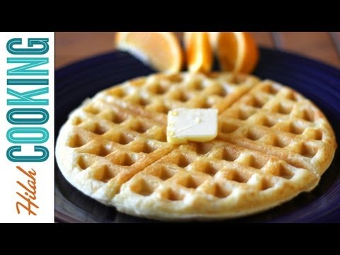 How To Make Waffles – Basic Waffle Recipe