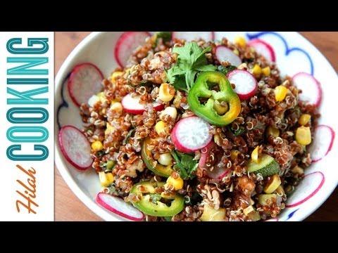 Quinoa Salad – Light and Healthy Summer Recipe