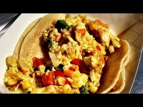 Sweet Potato Breakfast Tacos – The Peached Tortilla Foodtruck