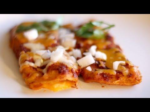 Make Cheese Enchiladas! Enchilada Recipe with Homemade Sauce