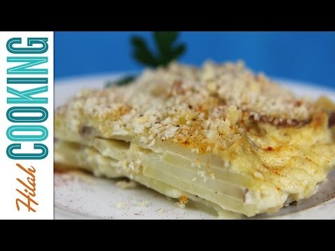 Scalloped Potatoes |  Hilah Cooking