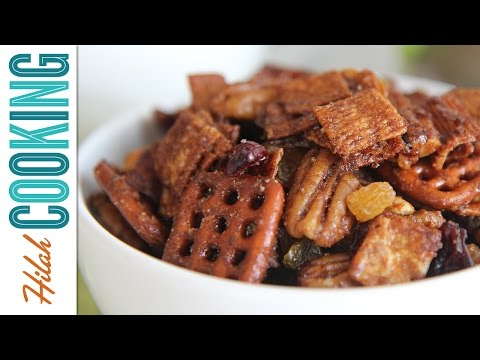 Cinnamon Toast Crunch Party Mix |  Hilah Cooking | Sponsored Video