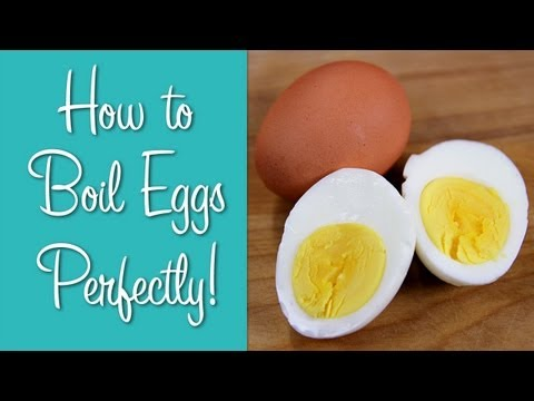 How To Boil Eggs – Perfect Hard Boiled Eggs