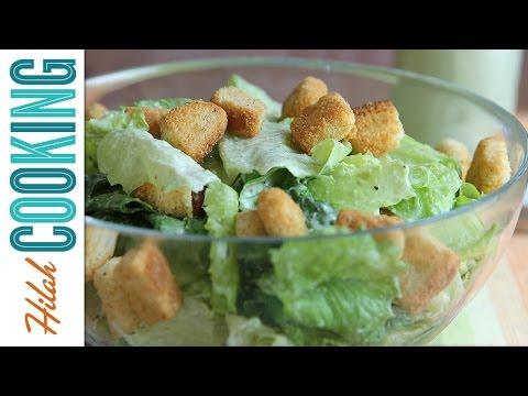 Vegan Caesar Salad |  Hilah Cooking