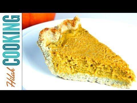 Gluten-Free Pie Crust Recipe + Pumpkin Pie Filling