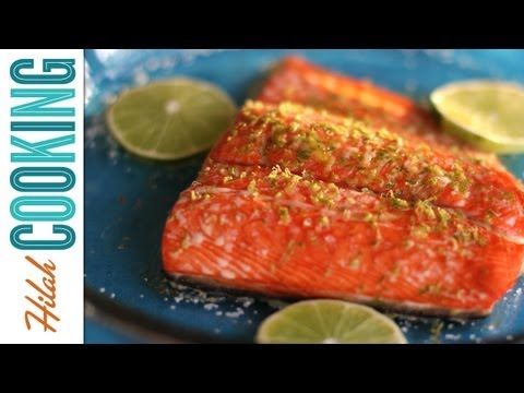 How to Cook Salmon | Maple-Lime Baked Salmon Recipe
