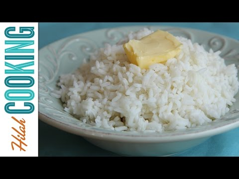 How To Cook Rice |  Hilah Cooking