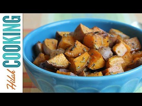 Roasted Sweet Potatoes |  Hilah Cooking