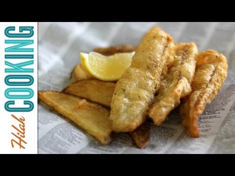 How To Make Fish and Chips – Extra Crispy Fish and Chips Recipe