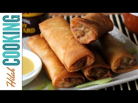 Egg Rolls Recipe |  Hilah Cooking