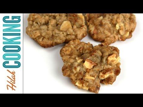 Oatmeal Apple Toffee Cookies