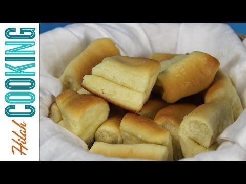 Buttery Dinner Rolls |  Hilah Cooking