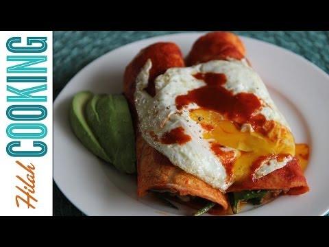 Breakfast Enchiladas! |  Hilah Cooking