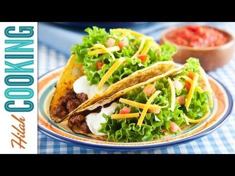 How To Make Tacos!!! – Crispy Beef Taco Recipe