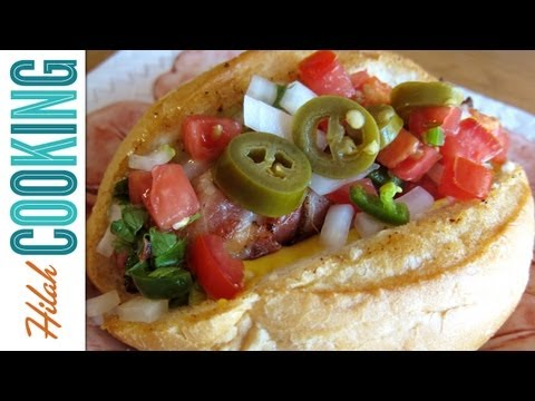 Sonoran Hot Dogs Recipe- Mexican-style Hot Dogs