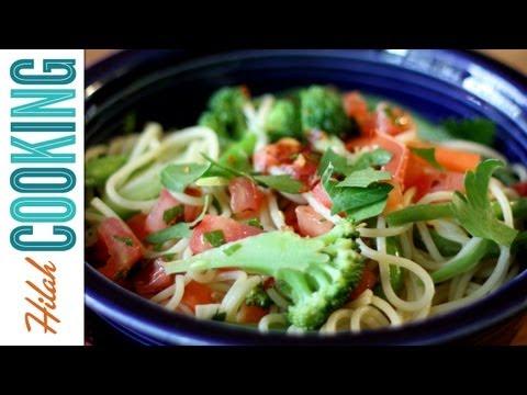 How To Make Pasta Primavera | Hilah Cooking