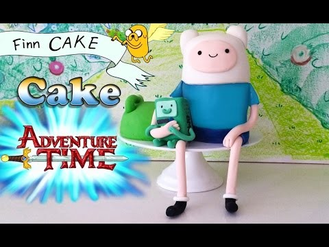 ADVENTURE TIME CAKE How To Cook That Ann Reardon Finn the Human BMO