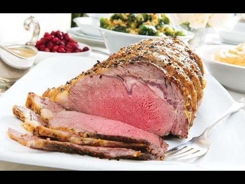 How To Make Standing Rib Roast, How To Cook Perfect Prime Rib Christmas Dinner