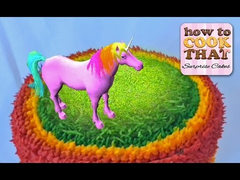 BONUS VIDEO woohoo Surprise Cakes App is now on the App Store with Pink Fluffy Unicorns to amaze you