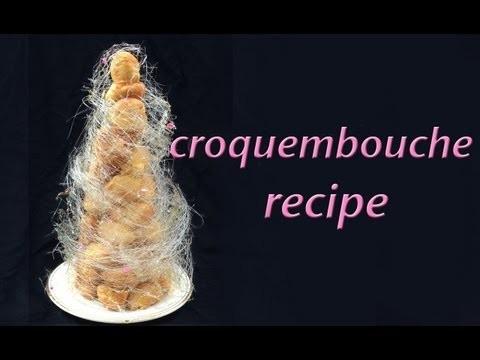 Croquembouche Recipe Profiterole Tower HOW TO COOK THAT Ann Reardon