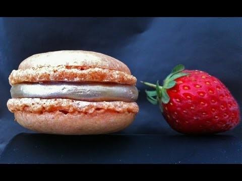 Nut Free Macaron Recipe – by Ann Reardon How to Cook That Ep040