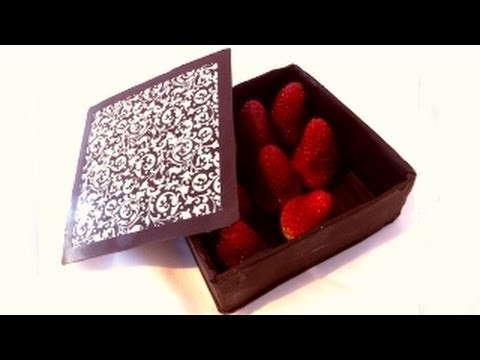 how to make a chocolate box by Ann Reardon – How To Cook That